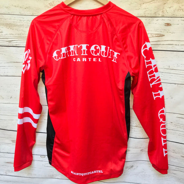 Can't Quit Classic Riding Jersey RED