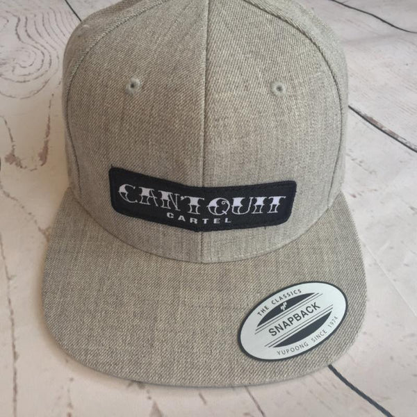 Cartel Patch Snapback - Grey