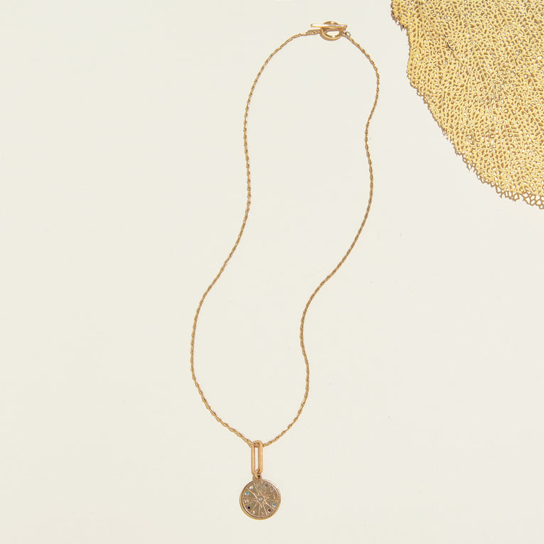 Seeker Necklace Gold