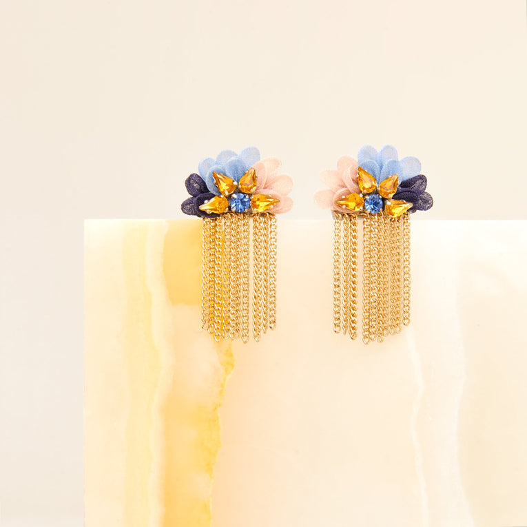 Mila Stud Earrings in Multi