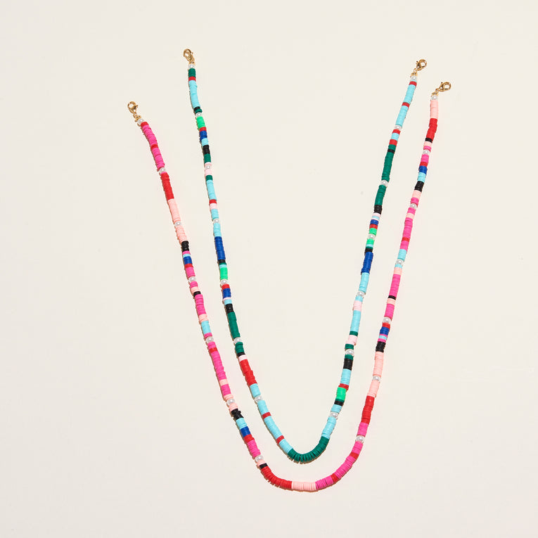 Mask Chain Pink Multi