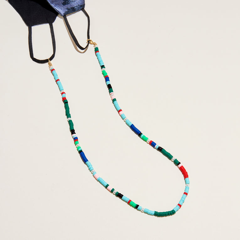 Mask Chain Blue Multi