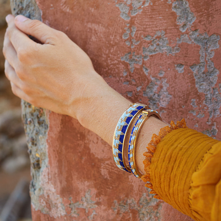 Mignonne Gavigan Erin Bracelet in orange gold