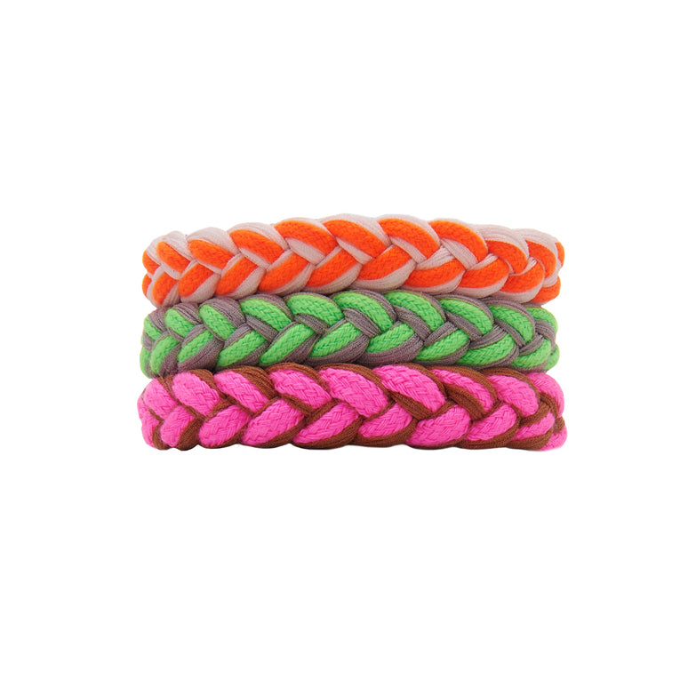Mignonne Gavigan Extender Bracelet in Orange/Pink