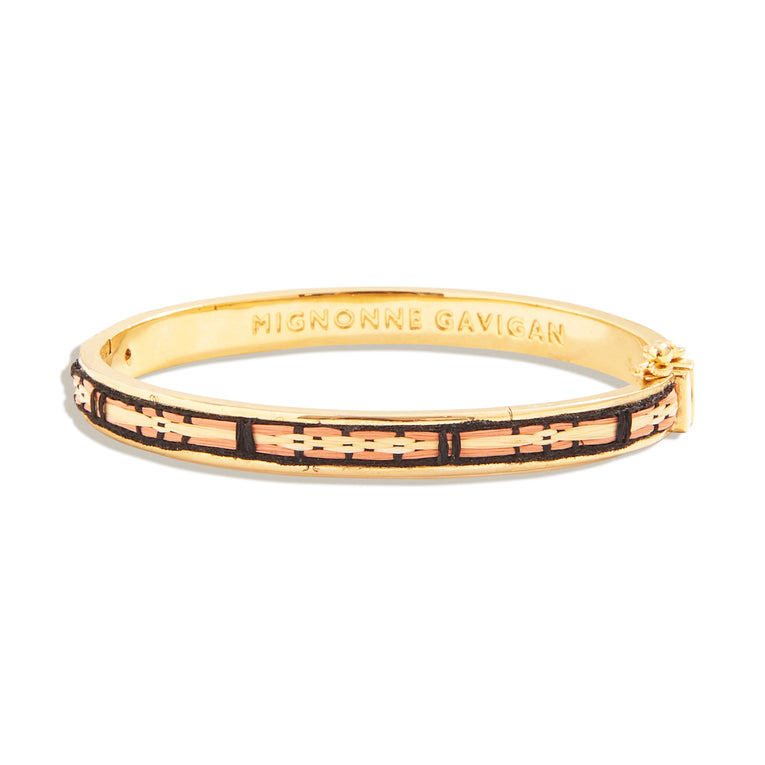 Mignonne Gavigan Getty Skinny Bangle Neutral