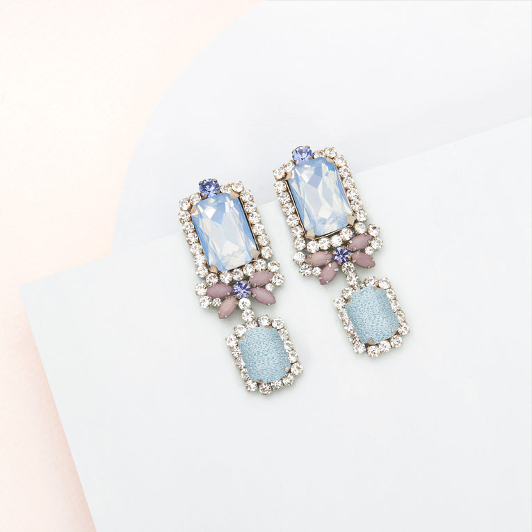 Isabella Earrings Opal