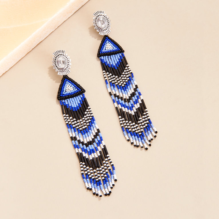 Mignonne Gavigan Jackson Earrings in blue