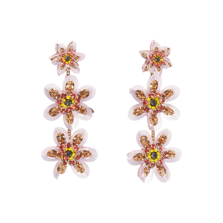 Mignonne Gavigan Kira Earrings in pink color