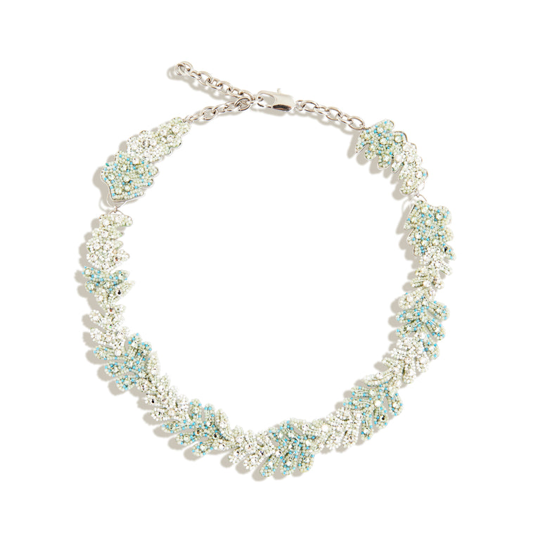 Lila Fern Necklace Mint