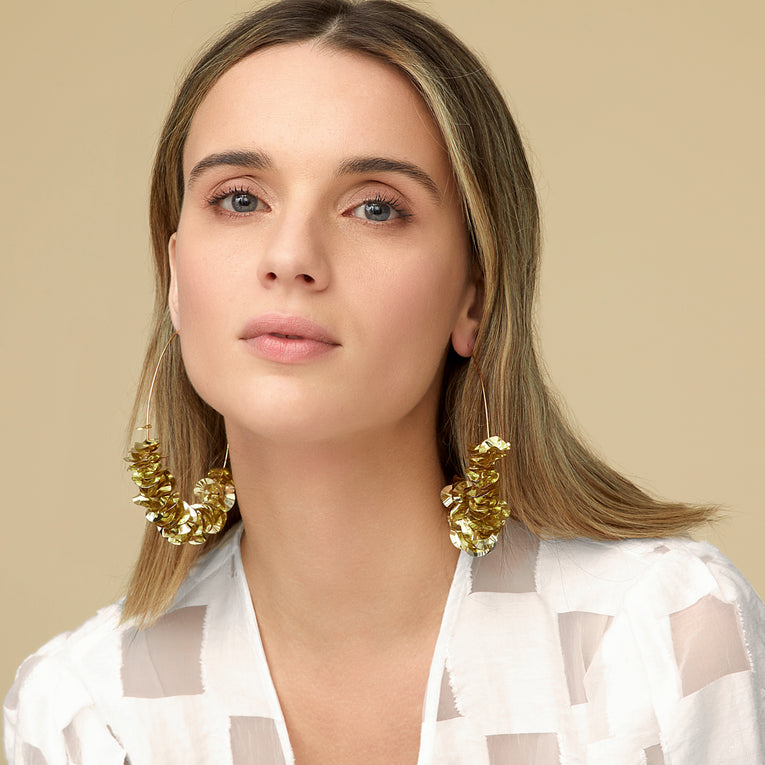 Mignonne Gavigan Mega Lolita Hoop Earrings in Gold