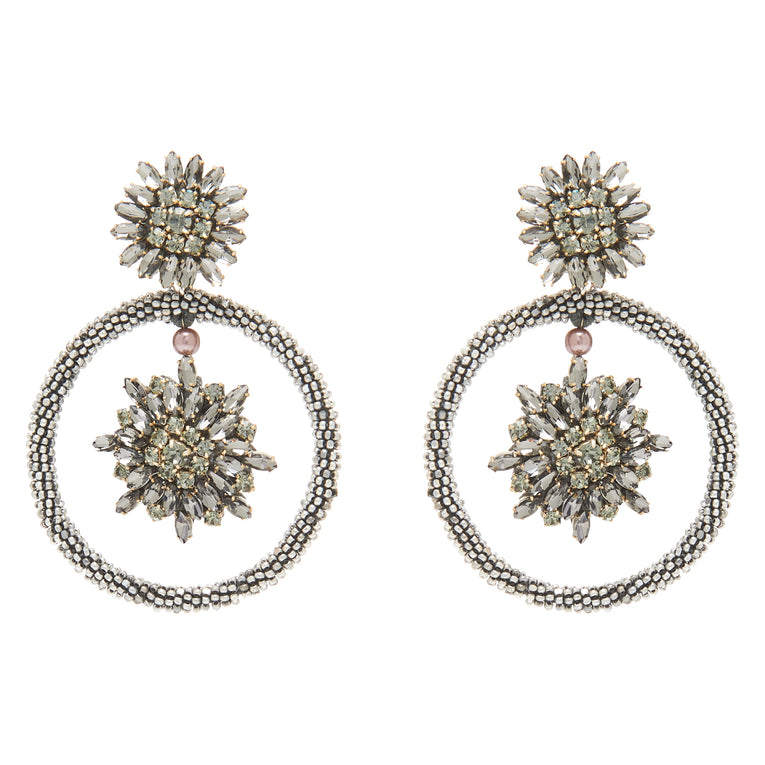 Mignonne Gavigan Maeve Hoop Earrings Silver