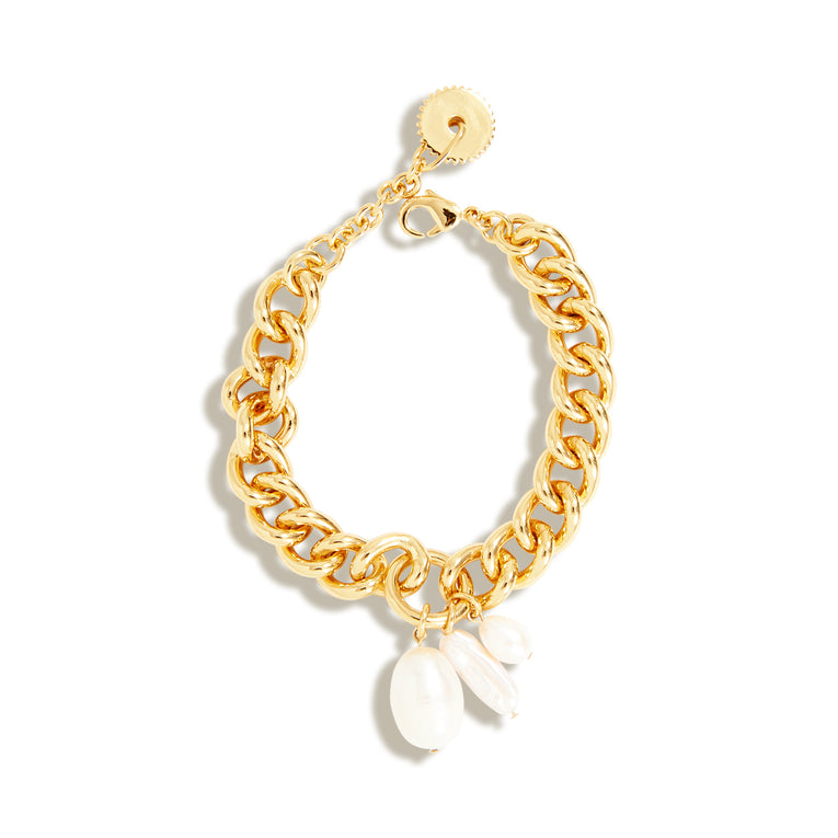 Margot Pearl Bracelet White Gold