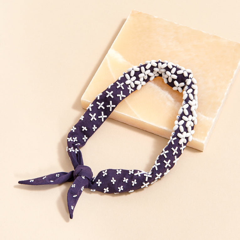 Mignonne Gavigan Mateo Necktie in blue color
