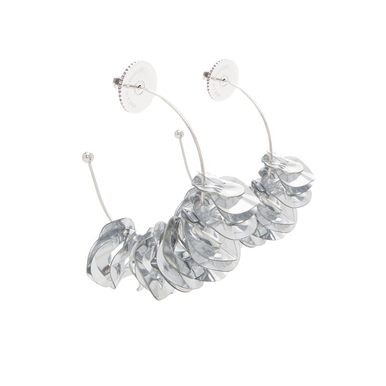 Mini Lolita Earrings Silver