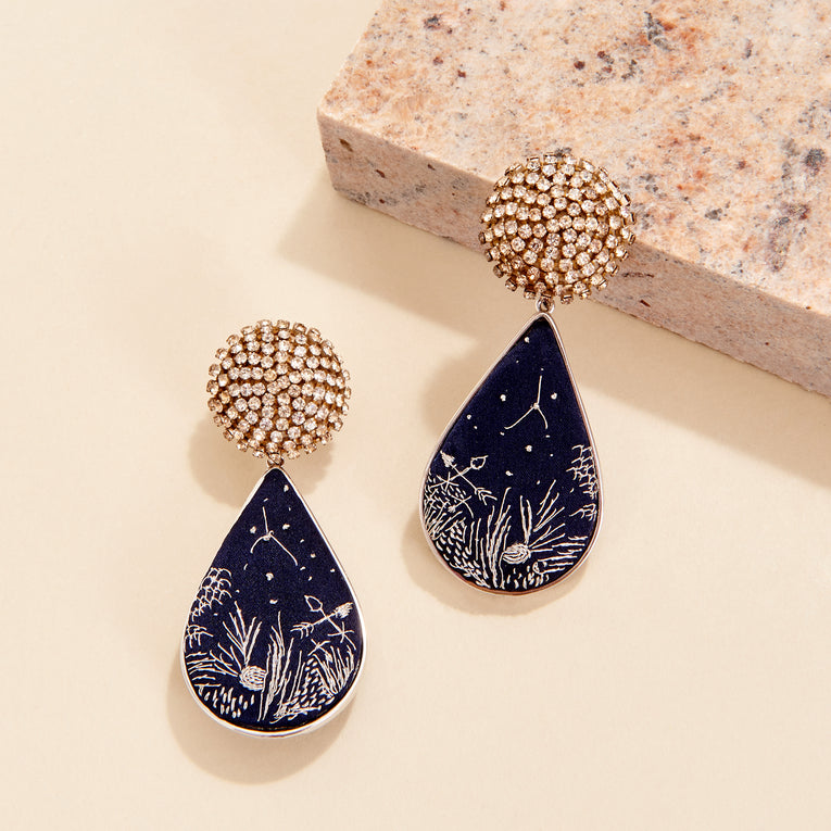 Mignonne Gavigan Phoenix Earrings Blue
