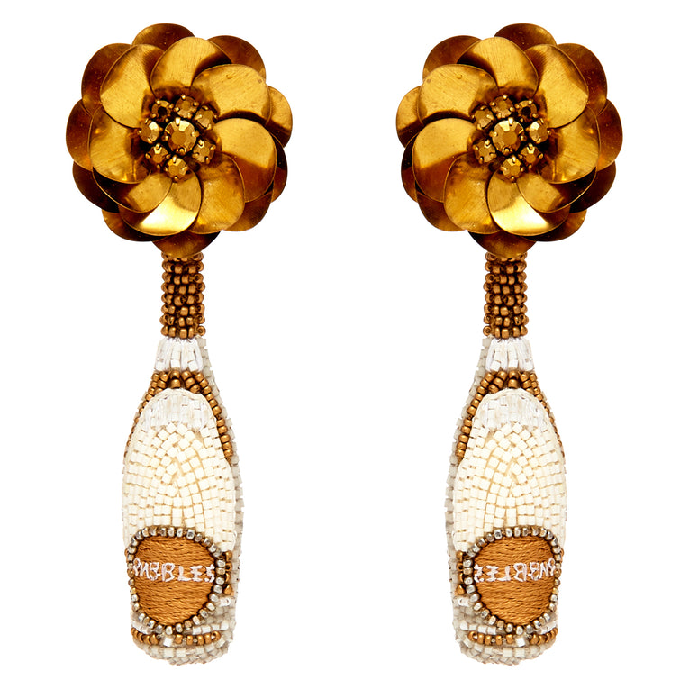 Mignonne Gavigan Prosecco Earrings Gold