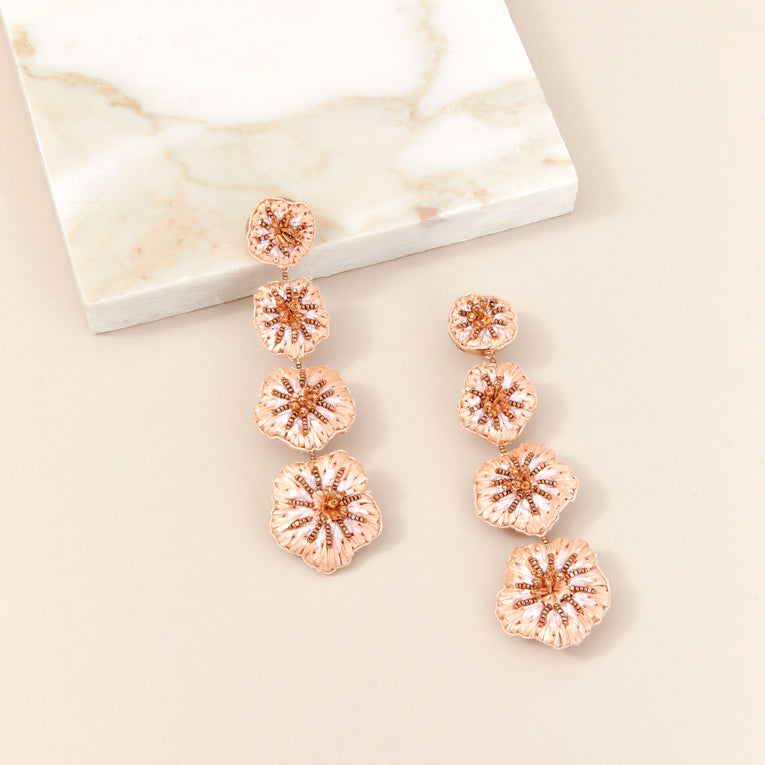 Mignonne Gavigan Rae Earrings in blush