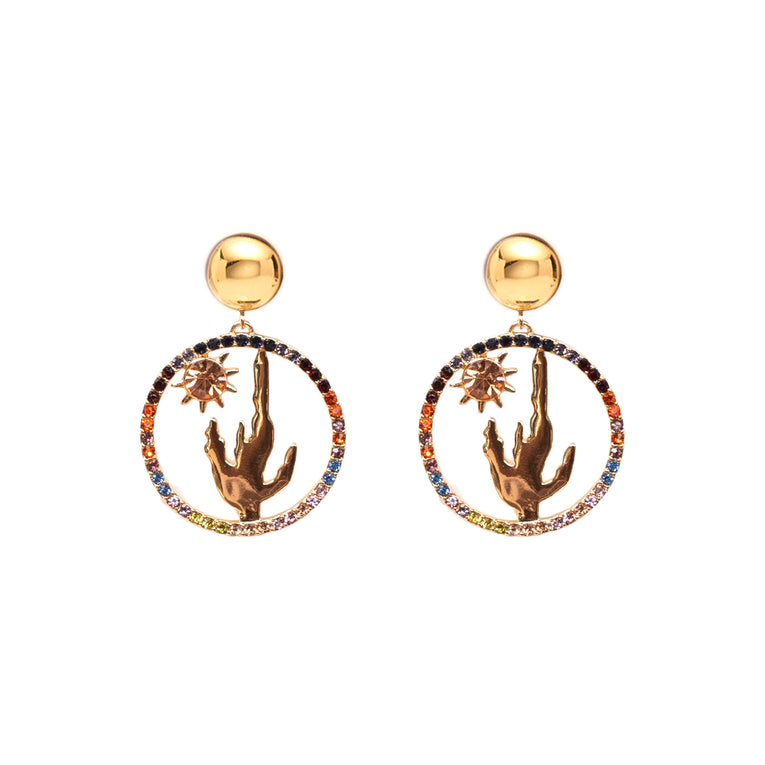 Mignonne Gavigan Sedona Crystal Earrings Multi