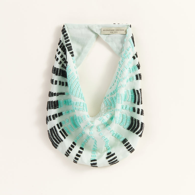 Skylar Scarf Necklace Mint