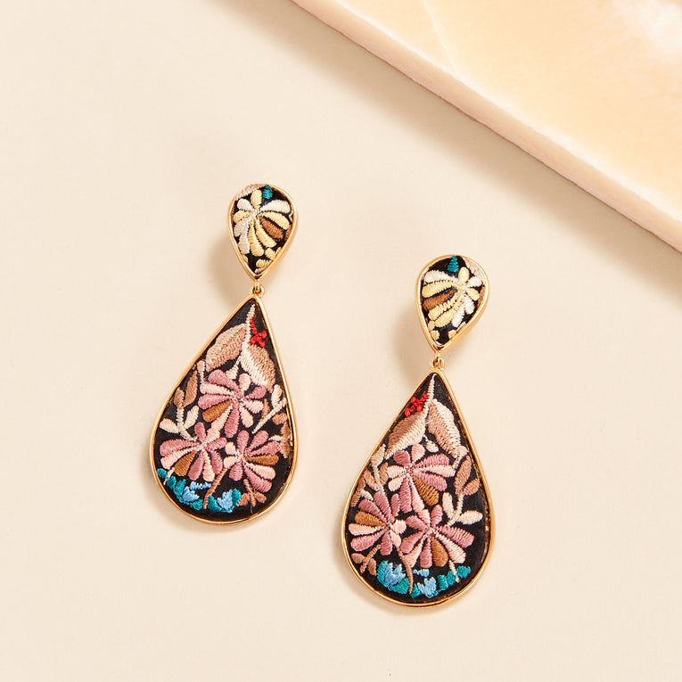 Mignonne Gavigan Sophia Flora Earrings in multi color