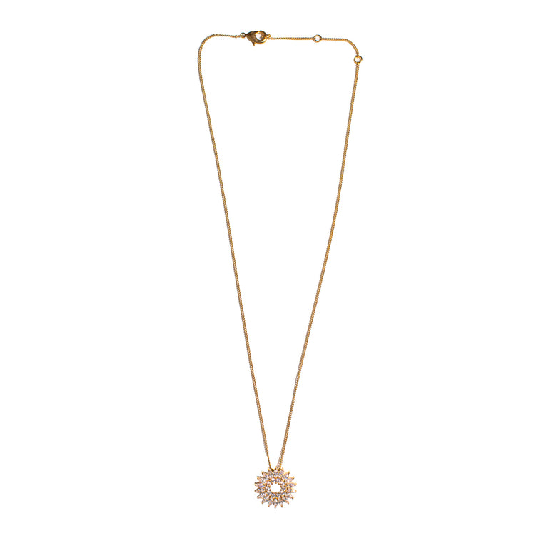 Mignonne Gavigan Crystal Burst Necklace Gold