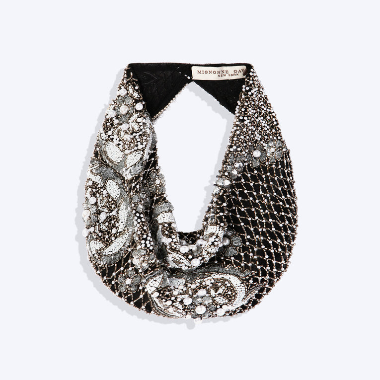 Mignonne Gavigan Le Charlot Scarf Necklace in Black