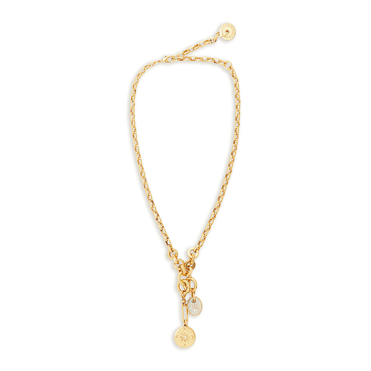 Voyager Necklace Gold