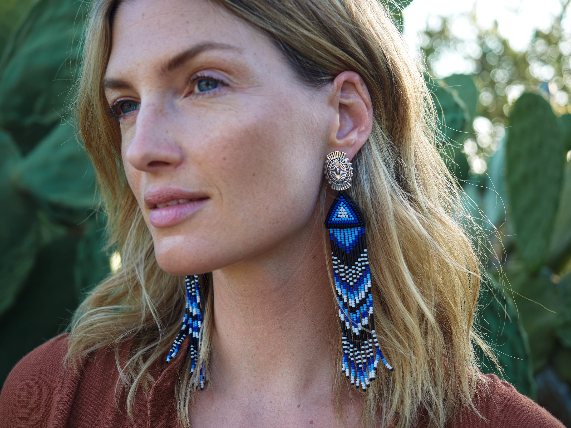 Mignonne Gavigan Jackson Earrings Blue