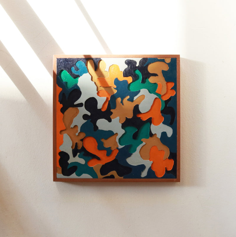 Carpenters Camo / Dutch - Form + Beyond graphic mirrors & wall art gallery london