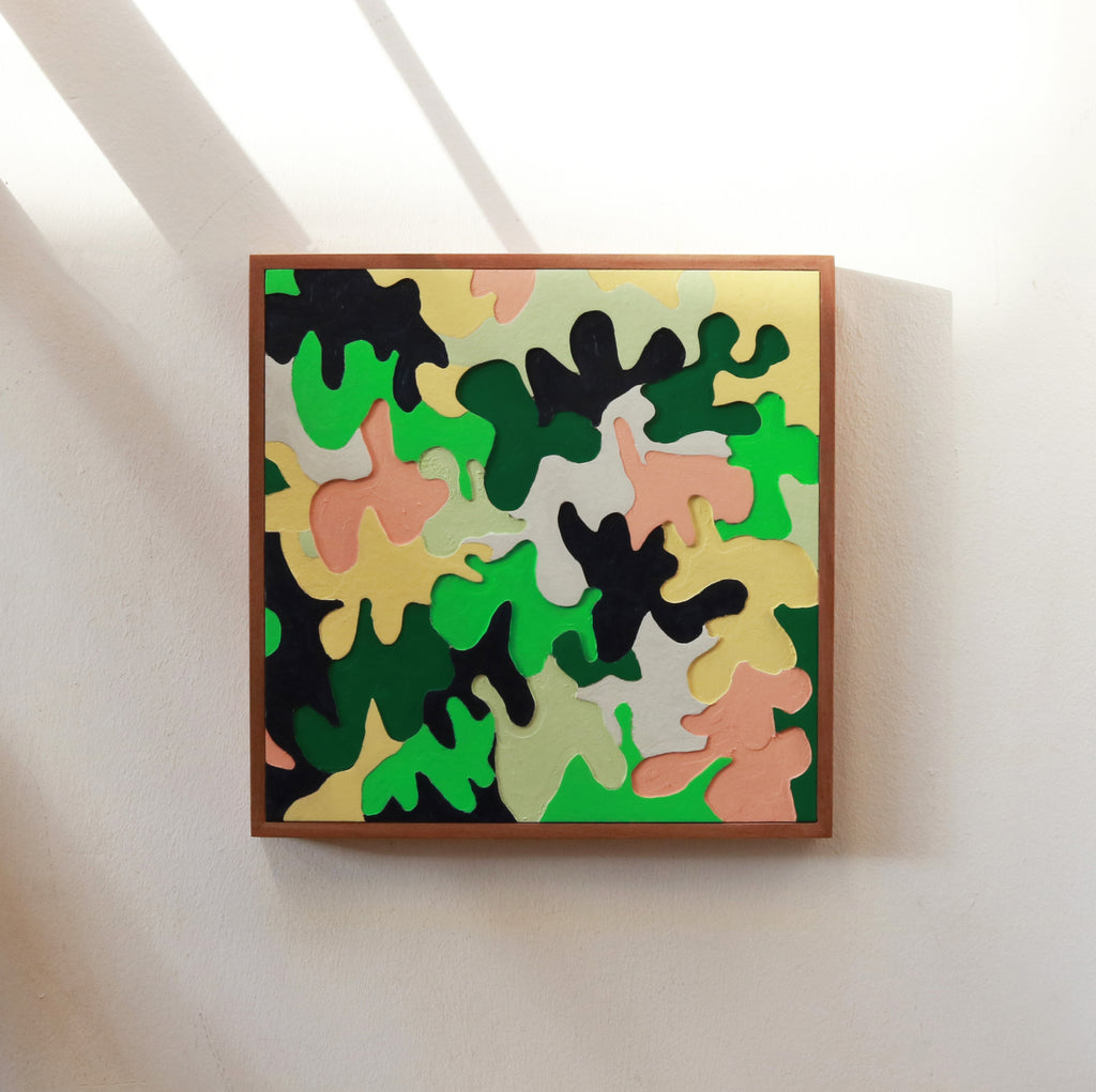 Carpenters Camo / Moose - Form + Beyond graphic mirrors & wall art gallery london