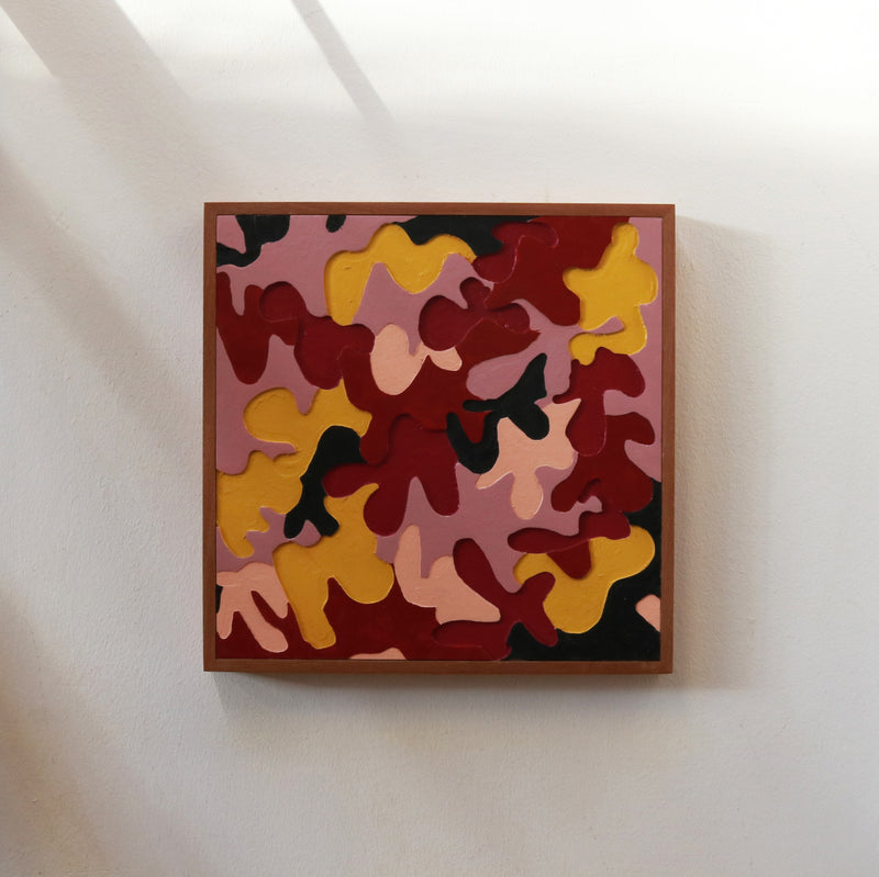 Carpenters Camo / Royale - Form + Beyond graphic mirrors & wall art gallery london