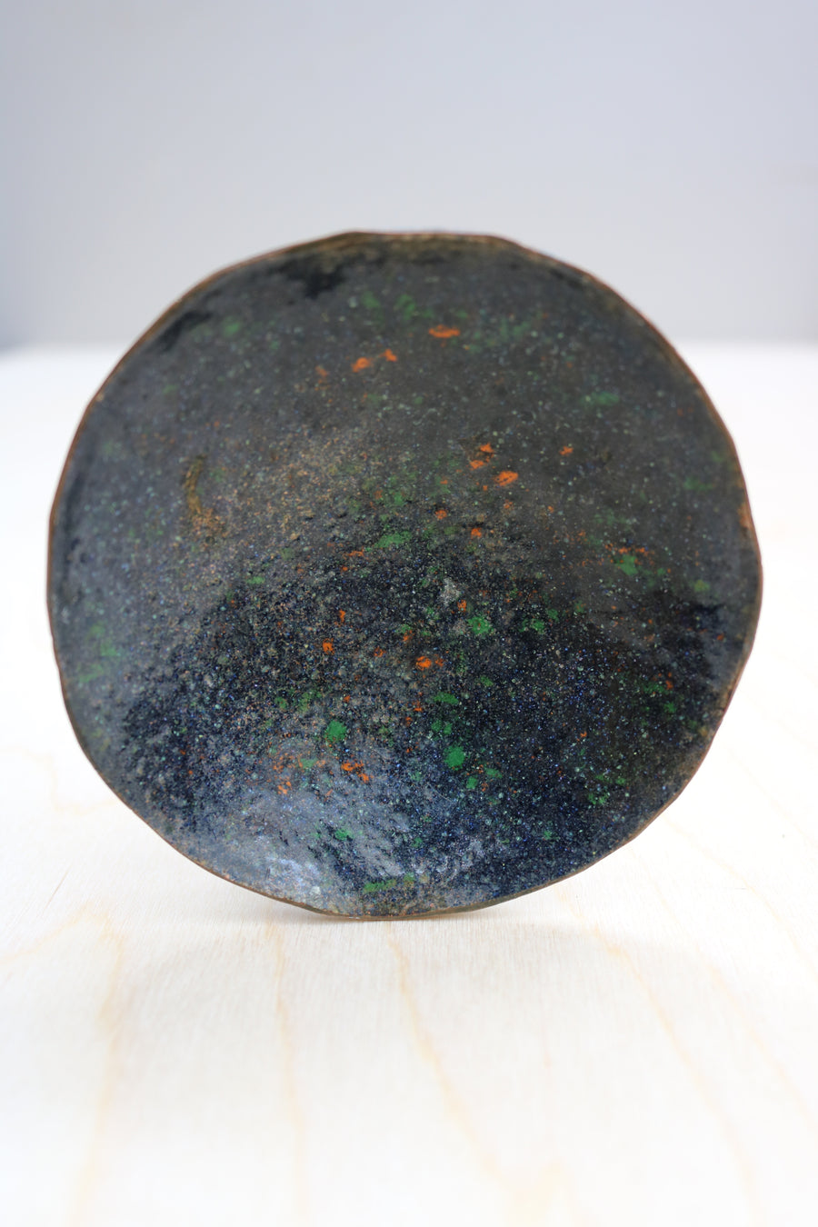 Enamelled copper dish - Form + Beyond graphic mirrors & wall art gallery london