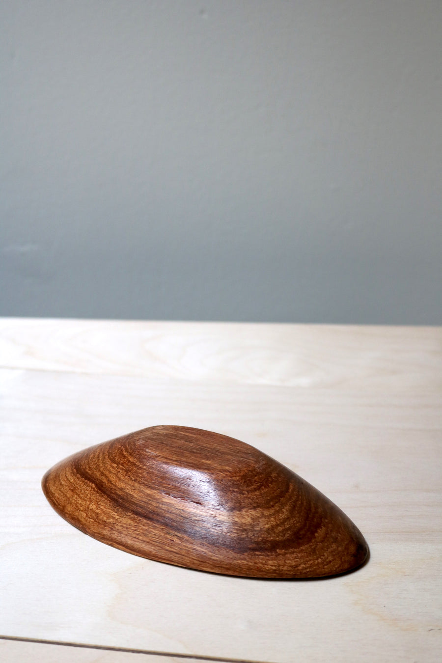 Teak Wood Bowl - Form + Beyond graphic mirrors & wall art gallery london
