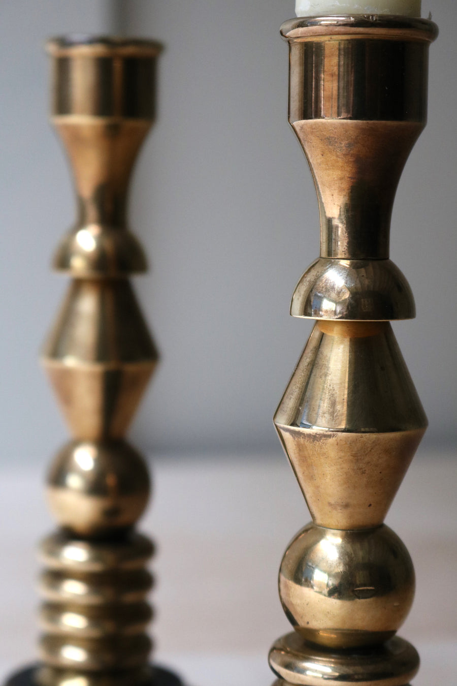 Deco Candlesticks - Form + Beyond graphic mirrors & wall art gallery london