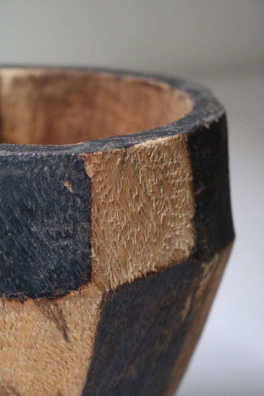 Wooden Mortar - Form + Beyond graphic mirrors & wall art gallery london