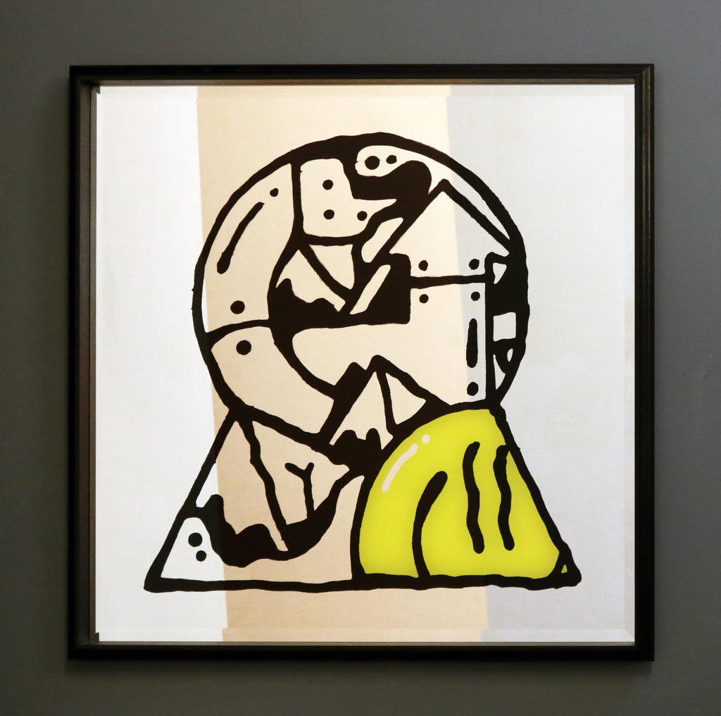 KEYHOLE BY DARREN JOHN - Form + Beyond graphic mirrors & wall art gallery london