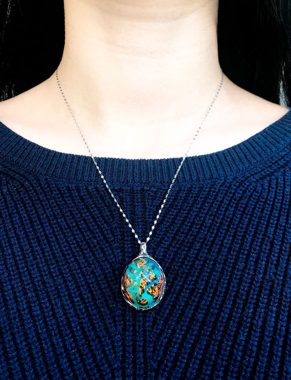 LIMITED EDITION Autumn River Pendant - Secret Woods