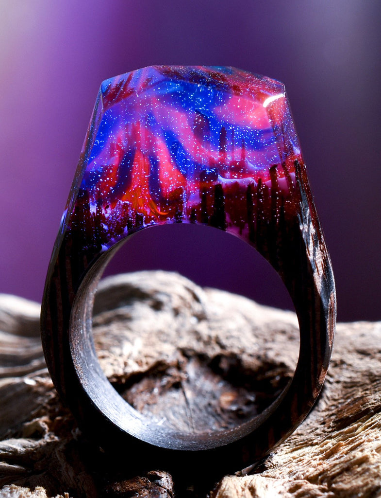 Ring Collection Secret Wood
