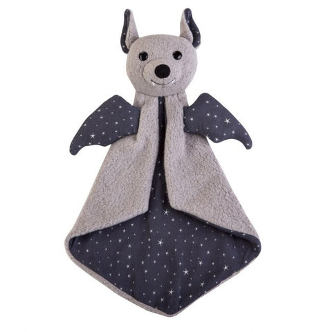 Organic Patterned Blankie – Bat