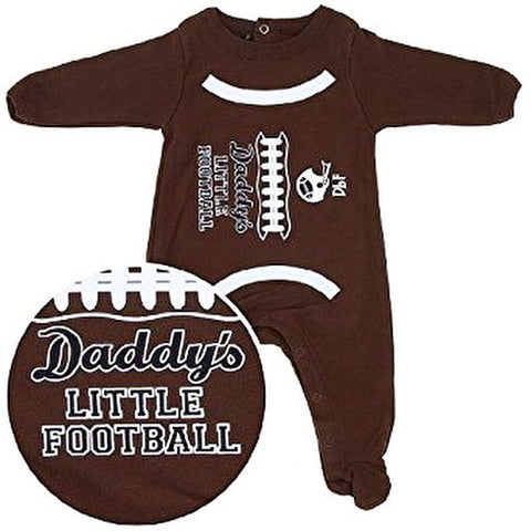 Daddy's Little Football Footie