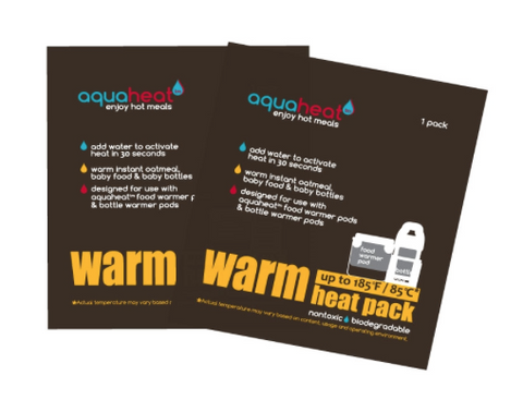 Aquaheat heat packs - Warm