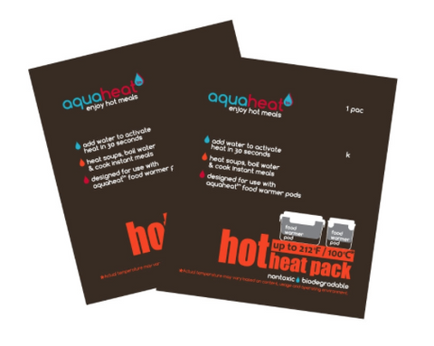 Aquaheat heat packs - Hot