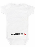 """Grandma Was Here"" Onesie"