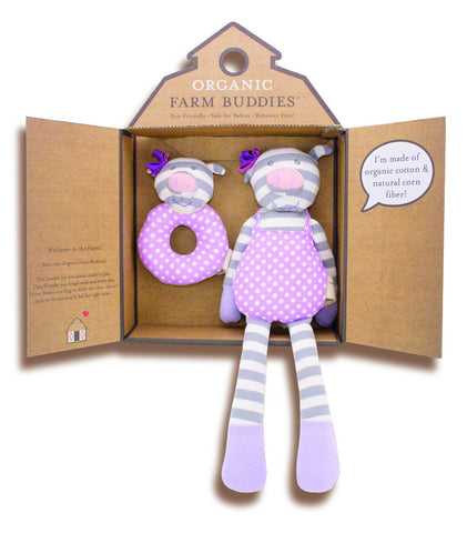 Baby Girl Pig Boxed Gift Set