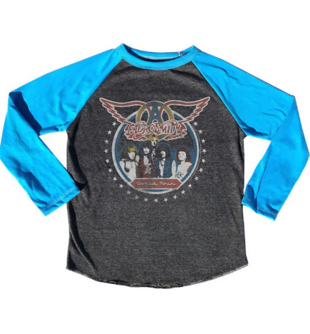 Aerosmith World Tour Raglan Tee