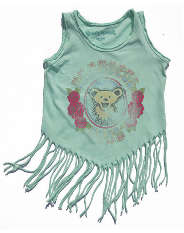 Baby Rock Star Fringe Tee - Grateful Dead