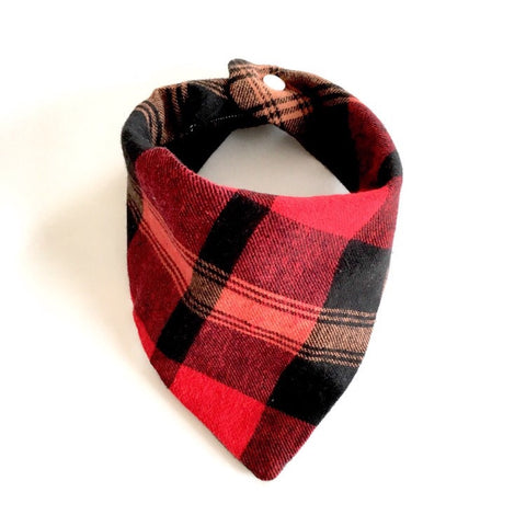 Bandana Bib - Plaid
