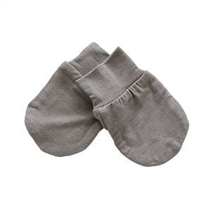 Bamboo Scratch Mittens - Clay
