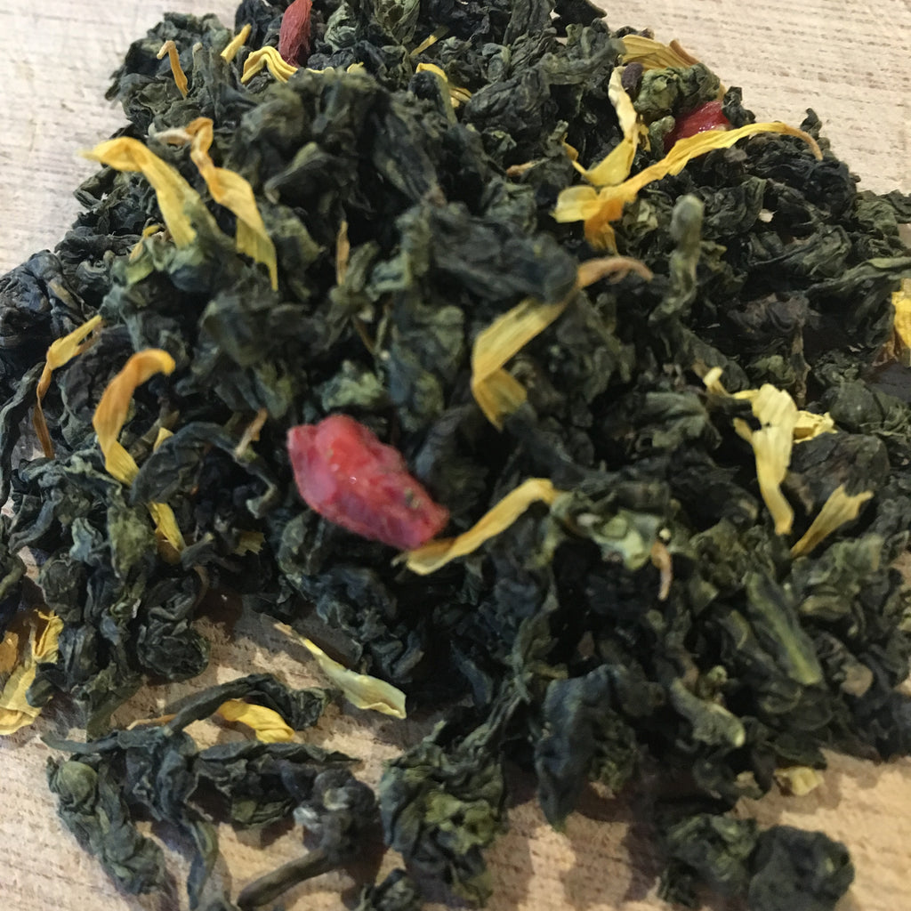 Oolong and the Goji Berry