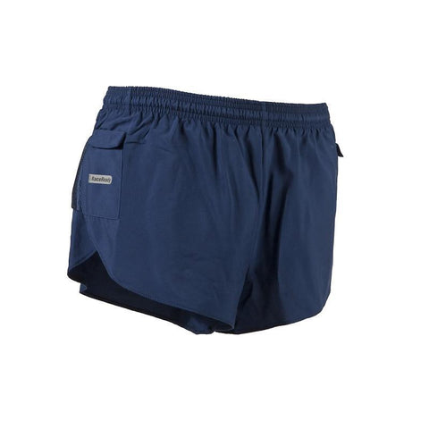 Men's LD Split-Cut Short - Navy